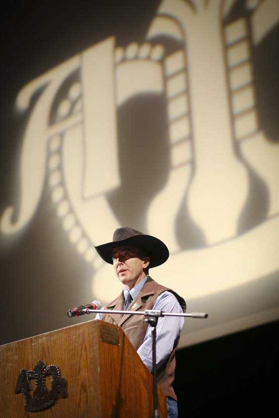 Mariner Kemper Addresses the American Royal