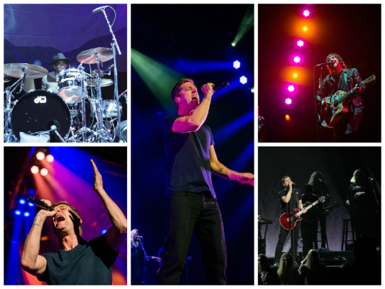 Rob Thomas & Plain White T's, June 22, Kansas City, The Great Unknown tour