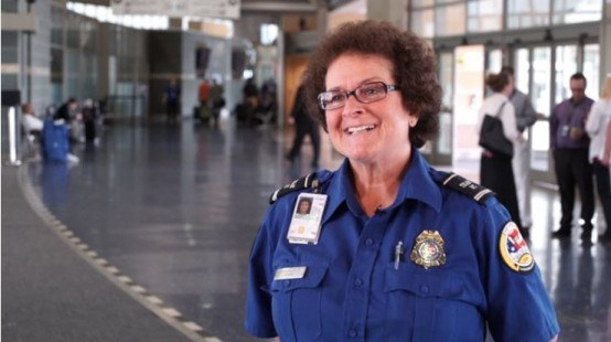 TSA employee learned to read with Literacy Kansas City