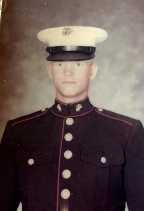 Bert Oster_United States Marine Corps