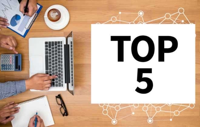 top five financial blog