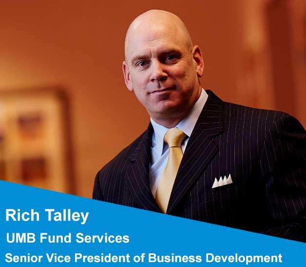 A photo of Rich Talley who works in fund administration at UMB Fund Services