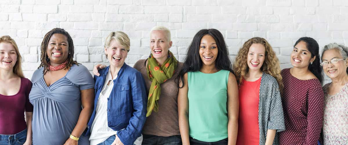 A group of women discuss women's wealth strategies