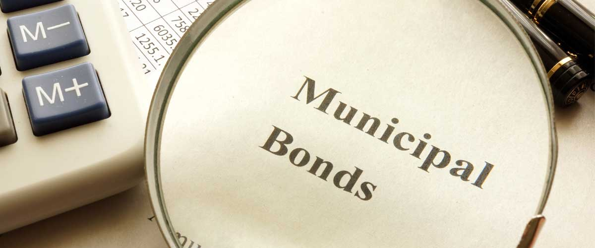 A picture of municipal bonds represent bond financing obligation tips
