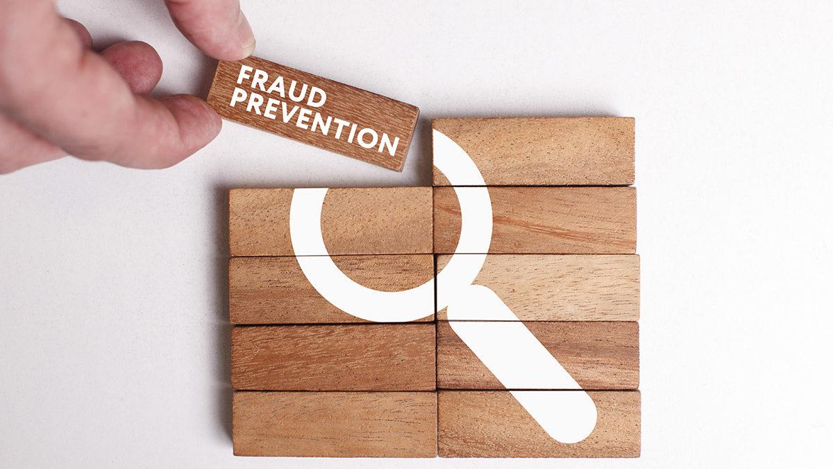 blocks depicting fraud prevention