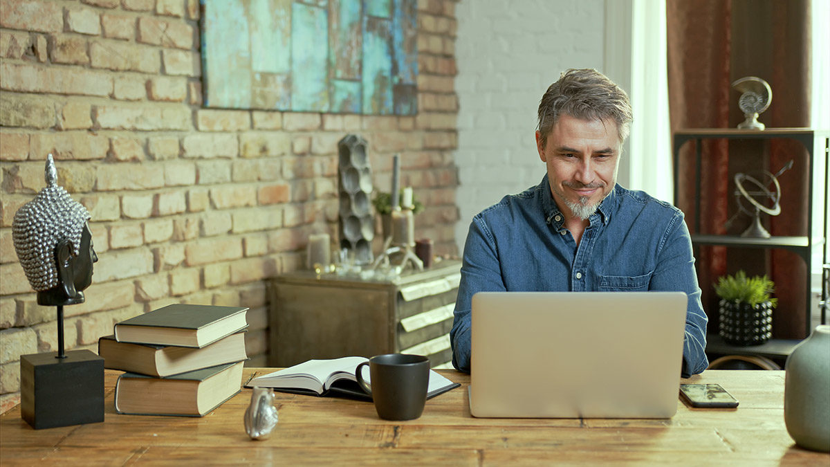 man-working-in-home-office