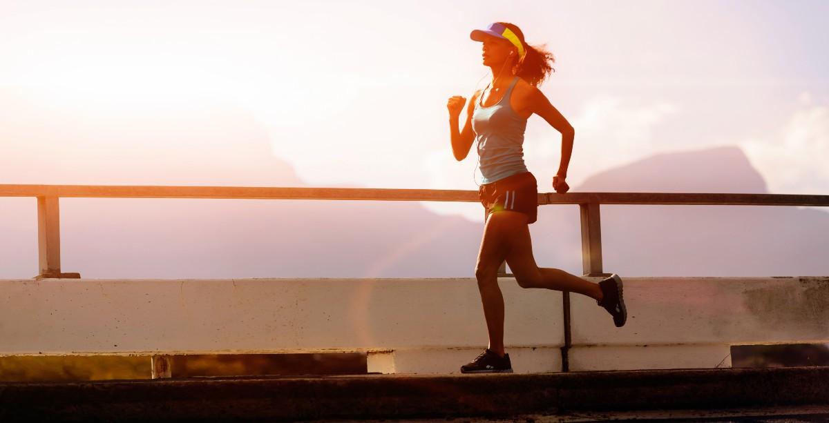 bigstock runner training at sunset sil 33686459 1