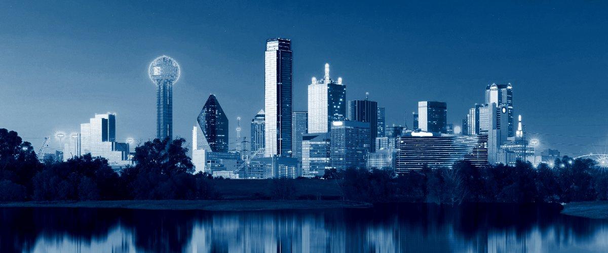 bigstock Dallas Skyline Reflection At D 181376209 1